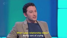 Jon Richardson - he's hilarious! British Humor, British Comedy, Jon Richardson, Funny Cute, Hilarious, 8 Out Of 10 Cats, Bleach Funny, Best Funny Images, Humor
