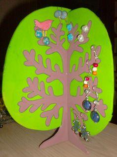 juwelenboom uit stevig karton