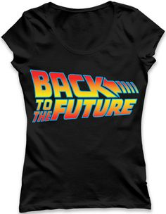 Back To The Future Ladies TSHIRT
