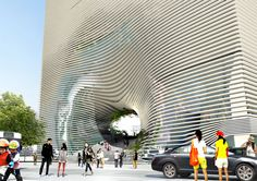 Technology, Entertainment & Knowledge Center (TEK) by BIG - Bjarke Ingels Group
