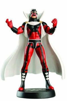 DC Superhero Figurine Collection #39 Brother Blood by Eaglemoss. $12.99. Limited Edition. Hand Painted Lead Figurine. Includes Figure and Magazine. From the publisher of the extremely popular Classic Marvel Figurine Collection Magazine! Meet the heroes and villains of the DC Universe as fully authorized figurines team-up with an amazing, fact-filled magazine for a series in a super-league of its own! The hand-painted lead figurines are sculpted by master craftsmen...