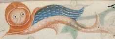 Detail from The Luttrell Psalter, British Library Add MS 42130 (medieval manuscript,1325-1340), f158r