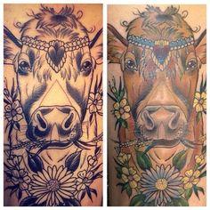 cow tattoo (19)