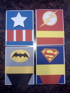 My Superhero Cards
