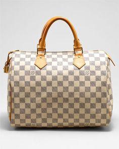 Louis Vuitton Damier Azur Speedy 30cm