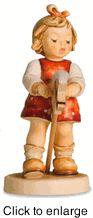 "Hummel figurine ""Just Horsin Around (Girl)"" HUM 2043/A"