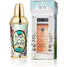 Benefit CosmeticsCrescent Row Laugh with Me Lee Lee... First off, the packaging is amazingly cute and chic... but most importantly, the scent is this sweet floral. I use it on the days that I feel extra girly like wearing it to my dates or to weddings.