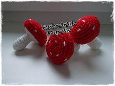 Szydełkowe muchomorki