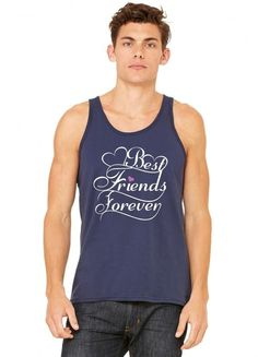 best friends forever for her tank top