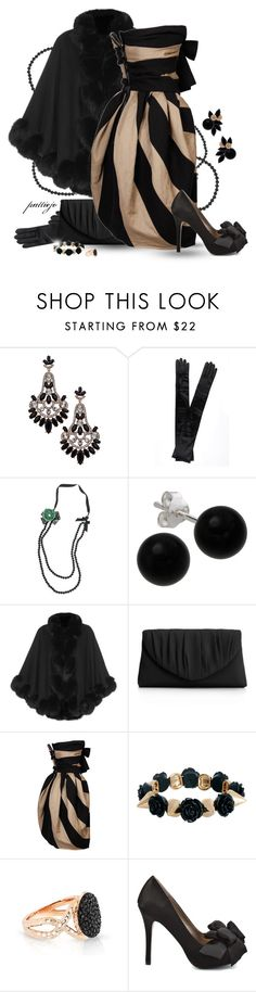 """""""Occasional Occasion"""" by rockreborn ❤ liked on Polyvore featuring Blu Bijoux, Dents, Bridge Jewelry, Harrods, La Regale, Lanvin, ASOS, Phillips House, Luichiny and Oasis"""