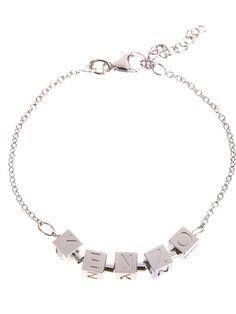 KENZO logo cube bracelet - on Vein - getvein.com