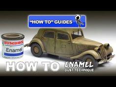 Advanced Tips: ENAMEL DUST TECHNIQUE VIDEO tutorial   Plastic Models World
