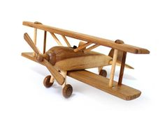 Wooden Toy Airplane in Handmade by MoreThanWoodShop on Etsy, ฿622.00