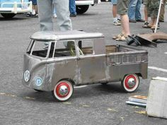 Double cab pedal car? Awesome!