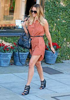 Lauren Conrad Leaving Kate Somerville Spa in LA