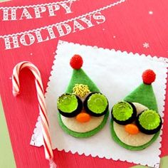 Prep & Landing Elf Cookies