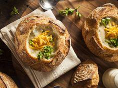 Copycat Panera Broccoli Cheddar In A Bread Bowl