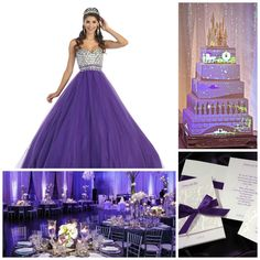 Princess Theme | Purple Quinceanera | Quinceanera Ideas | Quinceanera Party Planning |