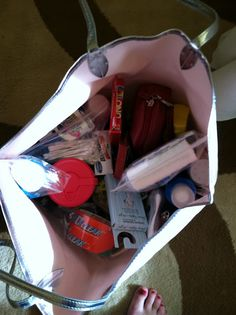 Maid of Honor Emergency Kit- I will be the best Maid of honor ever!!