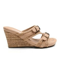 Look what I found on #zulily! Natural Too Tag Wedge by Two Lips #zulilyfinds $21.99, usually 60.00