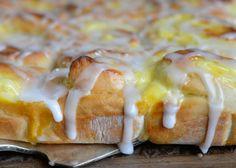 Hjemmelaget skolebrød kake - Franciskas Vakre Verden Bread Cake, Tart, Cake Recipes, French Toast, Brunch, Food And Drink, Sweets, Homemade, Cooking