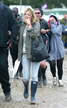 Kate Moss at Glastonbury Pictures