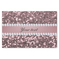 Trendy Rose Gold Faux Glitter and Diamonds Tissue Paper - fancy gifts cool gift ideas unique special diy customize