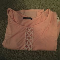 Pink Crop Top Perfect for the summer! Not Brandy Melville Brandy Melville Tops Crop Tops