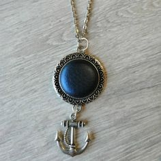 Nyaklánc dupla medállal fekete Pendant Necklace, Jewelry, Jewlery, Jewerly, Schmuck, Jewels, Jewelery, Drop Necklace, Fine Jewelry