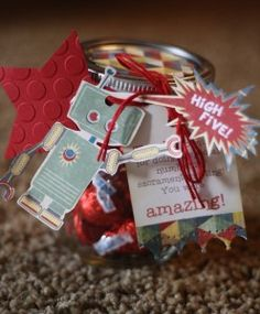 Neighbor gift using Bazzill's MAC by Heidi Lynn Schreiber http://totallyheidilynn.com