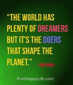 #quotes - The world has plenty...more on purehappylife.com