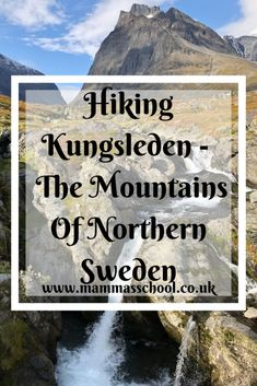 Hiking Kungsleden in the mountains of northern Sweden was so stunning. The wild, rugged, raw, and pristine Arctic nature did not disappoint. Wild Camp, Outdoor Play, Arctic, Sweden, About Me Blog, Hiking, Adventure, Mountains, Landscape