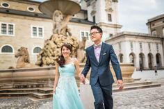 Douglas Fun » Avenue 8 Photographer » Ming Yang + Huixin Destination Wedding (Hallstatt, Salzburg & Prague) Bridesmaid Dresses, Wedding Dresses, Salzburg, Prague, Wedding Makeup, Destination Wedding, Hair, Fashion, Bridesmade Dresses