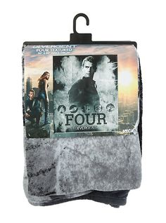 Divergent Four blanket at Hot Topic Kind of in need of this like now Divergent Party, Divergent Four, Divergent Hunger Games, Divergent Fandom, Divergent Trilogy, Divergent Insurgent Allegiant, Tfios, Divergent Birthday, Divergent Jokes