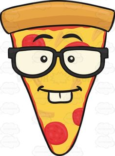 Nerd Looking Slice Of Pepperoni Pizza Wearing Eyeglasses Emoji #americanpizza #caricature #cartoon #cartoonface #cheese #cheesy #cheeza #chicagostyle #crust #emoji #emoticon #eyeglasses #faceonfood #food #genius #glasses #intelligent #learner #meltedcheese #mozzarella #mozzarellacheese #nerd #pepperoni #pepperonichips #pepperonislices #pie #pizza #pizzapie #pizzaslice #rim #scholar #single #singleslice #slice #smart #smiley #smilies #thickcrust #thincrust #trianglepizza #twofrontteeth ...