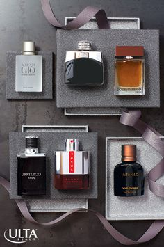 Cologne is the perfect gift for the man in your life. Try these holiday favorites at Ulta Beauty. Guys Grooming, Suede Hat, Main Squeeze, After Shave, Well Dressed, Giorgio Armani, Cologne, Mj, Jimmy Choo