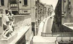 Malta street in the 1950s
