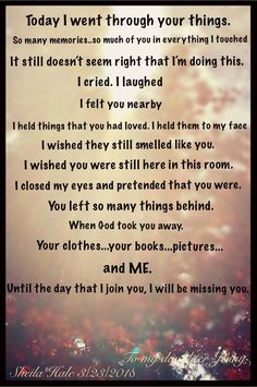 These words touched my deepest sentiments, I will miss you till I am with you again. Love you Mummy, see you in Heaven ! Miss Mom, Miss You Dad, Grief Poems, Grief Quotes Mother, Mother Poems, Missing My Husband, Funeral Poems, Grieving Quotes, Missing You Quotes