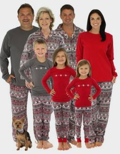 724aa629b9 SleepytimePjs Family Matching Christmas Nordic Pajamas PJs Sets for the  Family  Clothing Amazon http