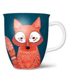 Look at this #zulilyfind! Woodland Fox Coffee Mug #zulilyfinds