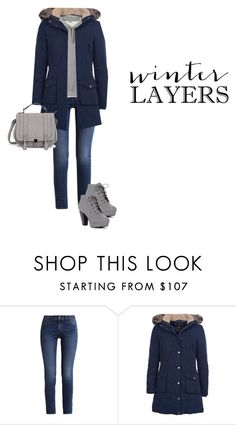 """Untitled #695"" by ichanee on Polyvore featuring Calvin Klein and Barbour"
