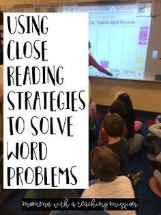 Using Close Reading