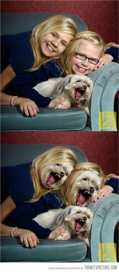 Face swap gone wrong…Oh, wow, I don't know why I laughed so hard at this one, but I find it very funny!!