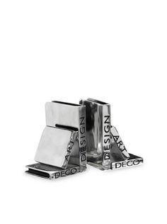 Add a little sparkle and interest at the same time!    Tribeca Deco Art Design Bookends, http://www.myhabit.com/ref=cm_sw_r_pi_mh_i?hash=page%3Dd%26dept%3Dhome%26sale%3DA265Q6IALJBU77%26asin%3DB0070SEPZ6%26cAsin%3DB0070SEQ6Y
