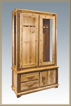 Montana Woodworks Gun Cabinet Homestead Collections, visit allrusticfurniture.com to see more!