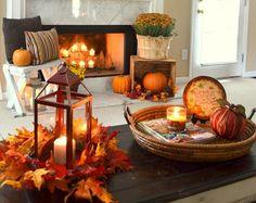 halloween home decor foglie