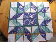 Fringed Square Quilt Block - Ludlow Quilt and Sew