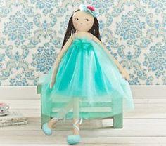 Flower Designer Doll Blue Poppy