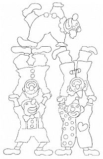 Clown coloring page Clown Crafts, Circus Crafts, Carnival Crafts, Carnival Themes, Circus Theme, Colouring Pages, Adult Coloring Pages, Coloring Sheets, Coloring Books