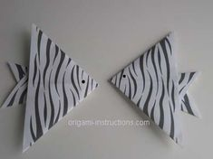 Origami angelfish for decorating?